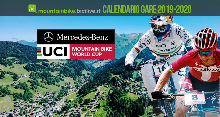 Calendario Gare Mtb 2020.Calendario Uci Mountain Bike World Cup 2019 E 2020