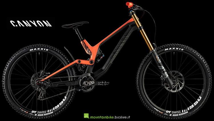 Bicicletta Canyon Sender CF 9.0 serie 2019