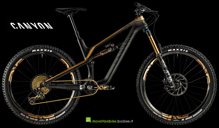 bici Canyon Spectral CFR 9.0 LTD anno 2019