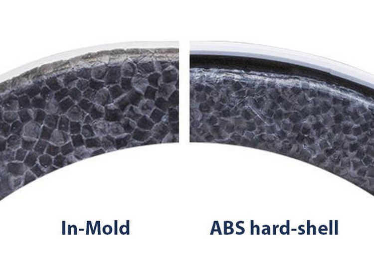 Differenza tra tecnologia In Mold e ABS Hard Shell