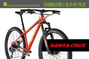 """Santa Cruz Chameleon 7 AL R-Kit Plus 2019 con ruote da 29"""" e forcella da 120 mm"""