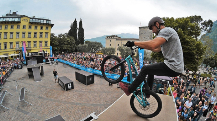 Freestyle al Bike Festival Garda