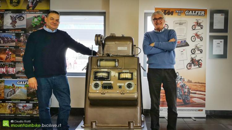 foto di Ivo Bristot e Umberto Milesi di Industrias Galfer
