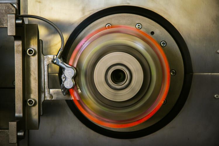 foto dei test dei dischi galfer