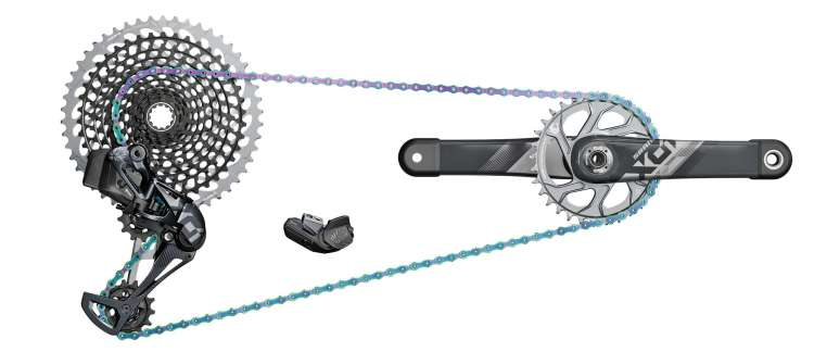 il kit SRAM Eagle X01 AXS
