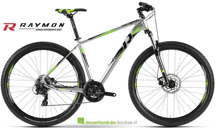 bicicletta Raymon Nineray 1.0 serie 2019