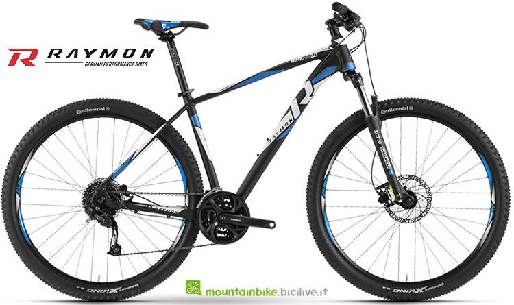 Bici hardtail Raymon Nineray 3.0 gamma 2019