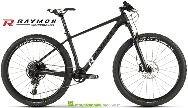 Bicicletta Raymon Nineray 9 gamma 2019