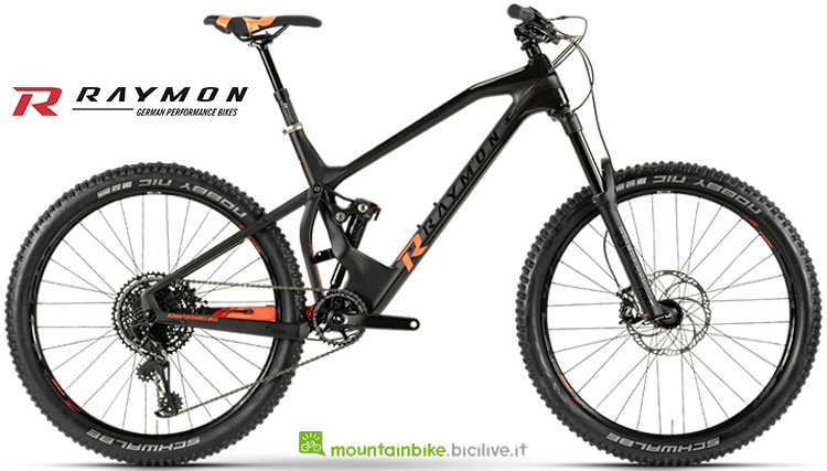 mountainbike Seventrailray 9.0 catalogo 2019