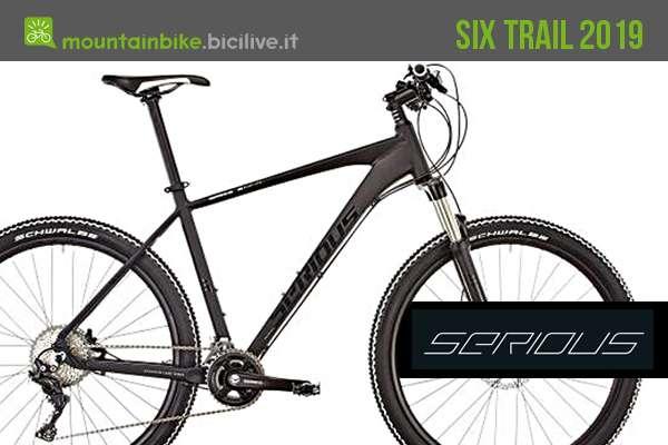 Serious Six Trail, hardtail in alluminio dal prezzo interessante