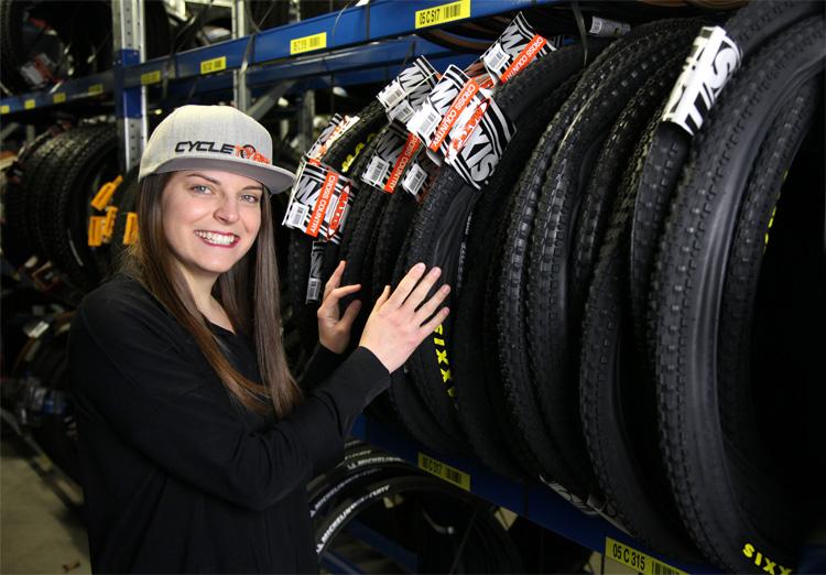 Susanna Mazzocca Gamba responsabile mercato italiano Cycletyres