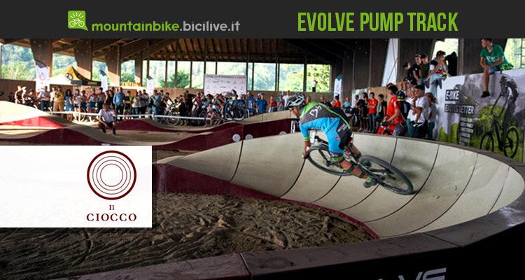 Ciocco Evolve Pump Track: la pista coperta per mtb più lunga d'Italia