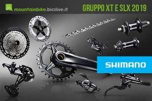 Nuovo gruppo Shimano XT e SLX a 12 velocità