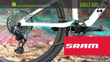 SRAM Eagle AXS, trasmissione elettronica