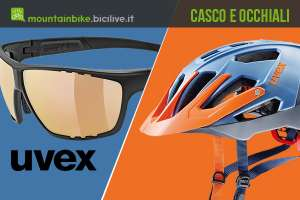 Casco Uvex Quatro e occhiali Sportstyle 706 CV VM, tecnologia ed efficienza per i rider mtb