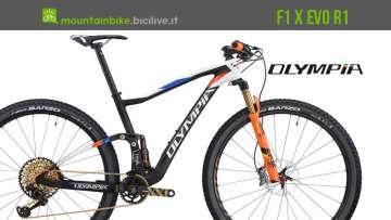 olympia f1x evo r1 mtb bici 2019