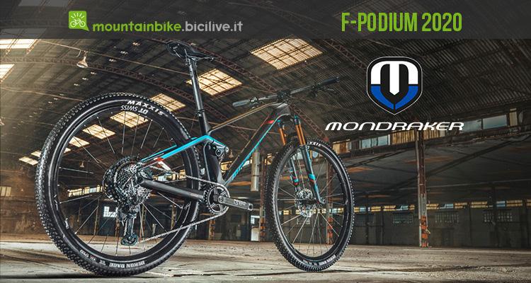 Mondraker F-Podium 2020: mtb da XC con anima da enduro