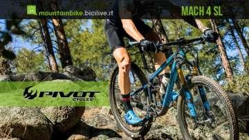 Mountain bike biammotizzata da XC Pivot Mach 4 SL 2020