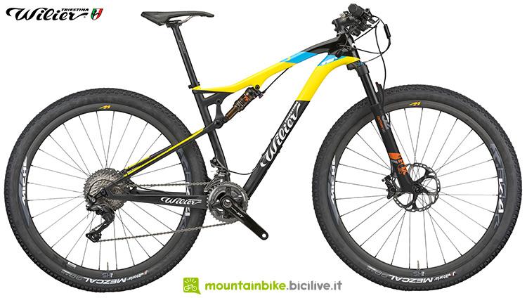 mtb bici modello 110fx willier triestina cambio colore 2019