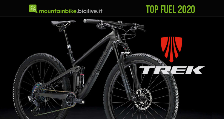 La mountain bike Trek Top Fuel 2020