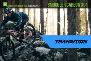Una Transition Smuggler Carbon XO1, mountain bike tuttofare