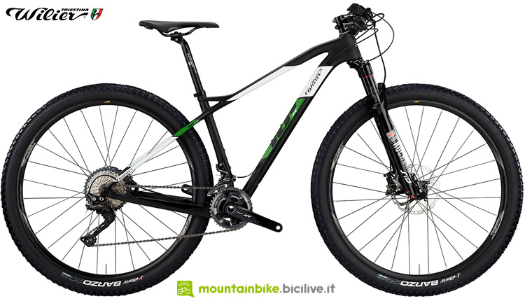 Una mountain bike Wilier Triestina 101X