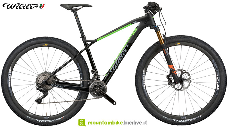 Una mountain bike hardtail Wilier Triestina 110X del 2019