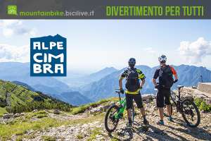 Divertimento in mtb all'Alpe Cimbra il 13 agosto 2019