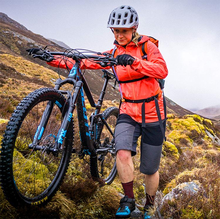 giacca da mountain bike