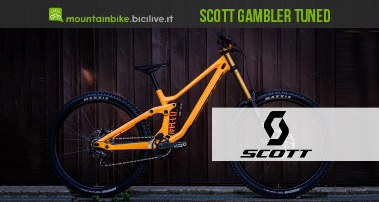 Scott Gambler Tuned mountainbike