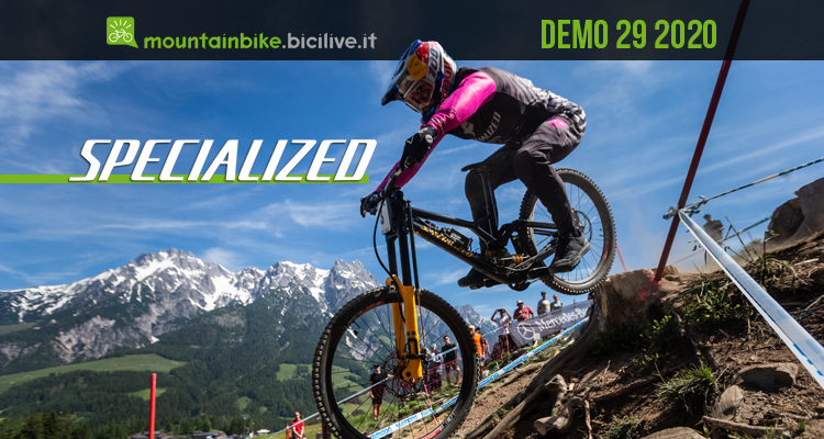 Mountain bike biammortizzata Specialized Demo 29 2020