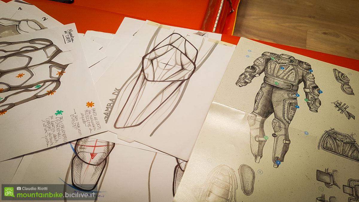 foto di disegni di protezioni
