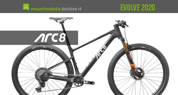 mountainbike arc 8 Evolve 2020