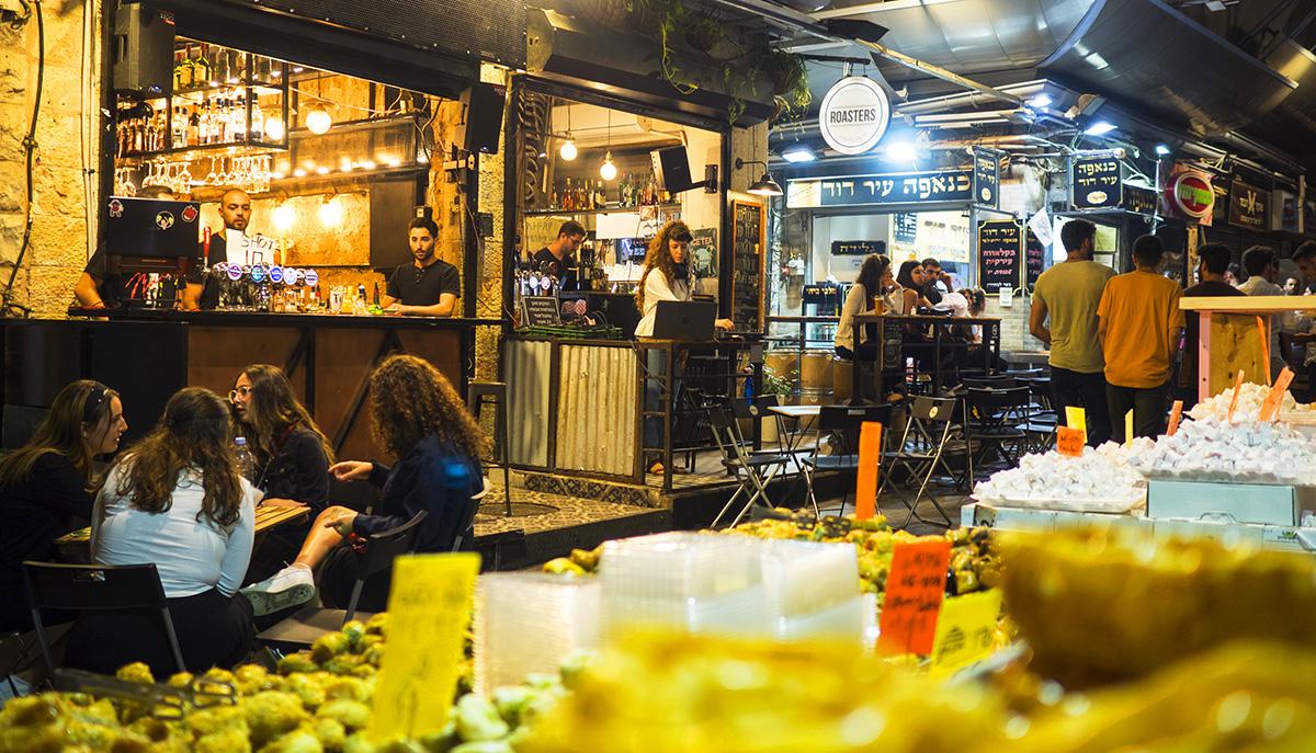 Visita mercato Gerusalemme di sera