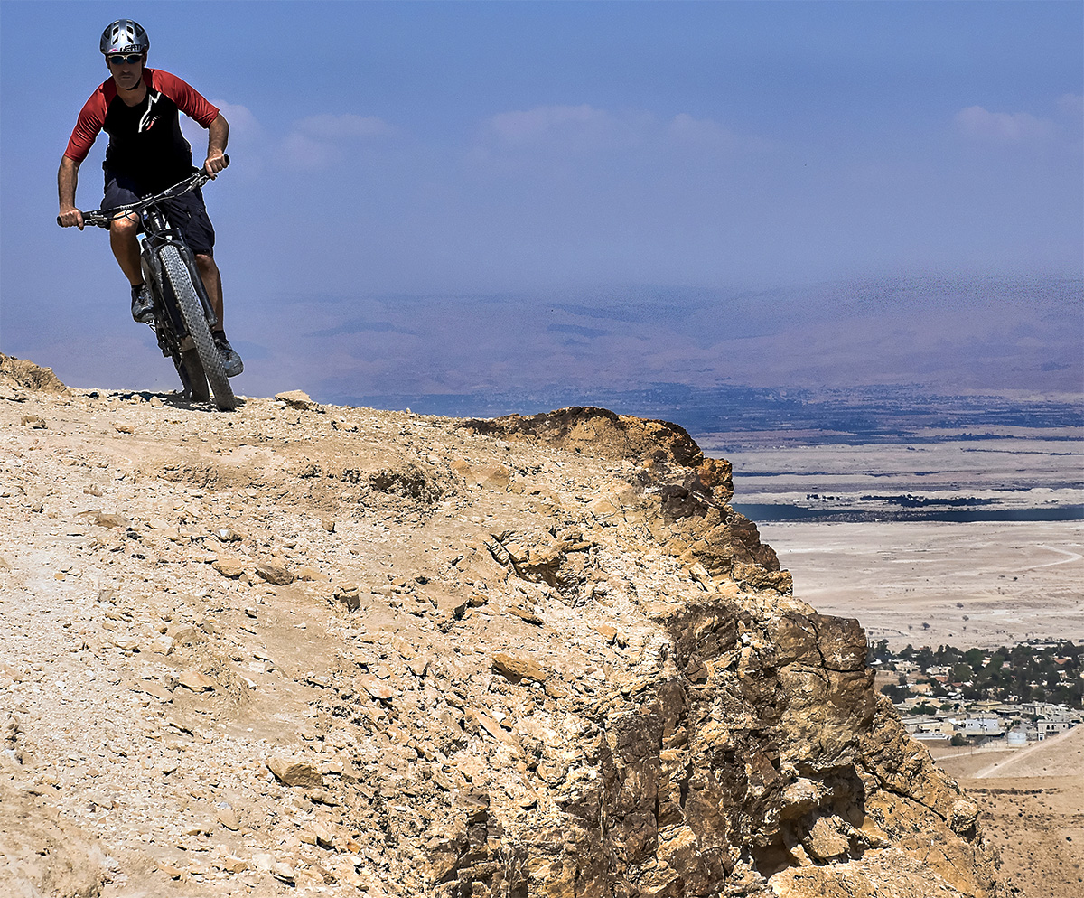 Guida Moar in mountain bike percorsi singletrack nel deserto
