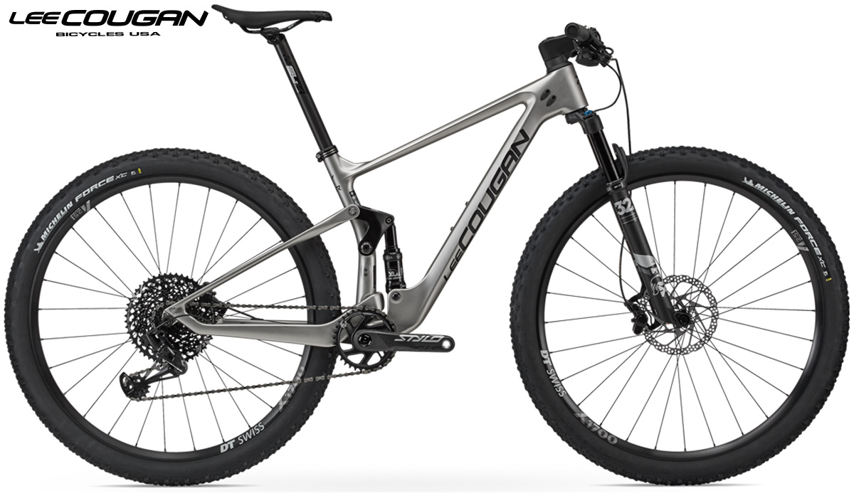Una mtb Lee Cougan Crossfire Air Matt Silver 2020