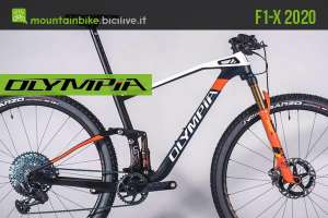 Olympia F1-X 2020: una mountain bike da 29″ per XC aggressivo