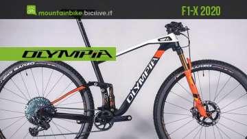 Olympia F1-X 2020: una mountain bike da 29″ per XC aggressivo