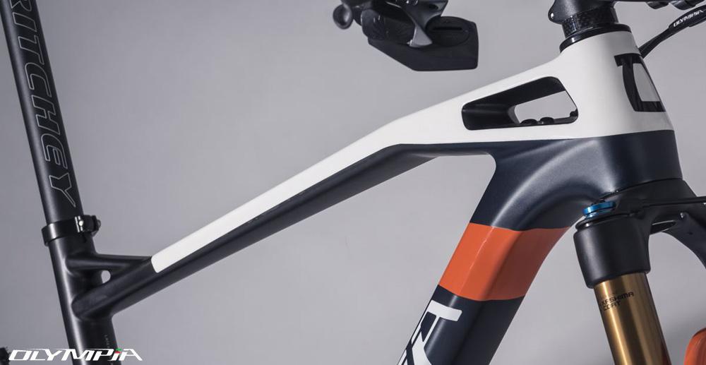 Il dettaglio del telaio della Olympia F1-X 2020 con Stability Control