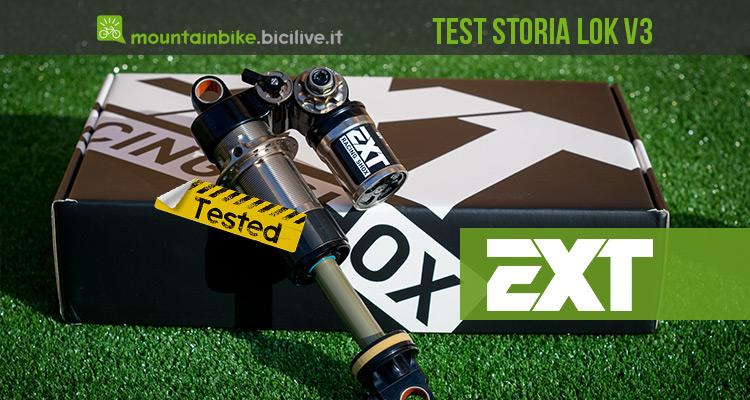 Test ammortizzatore EXT STORIA LOK V3