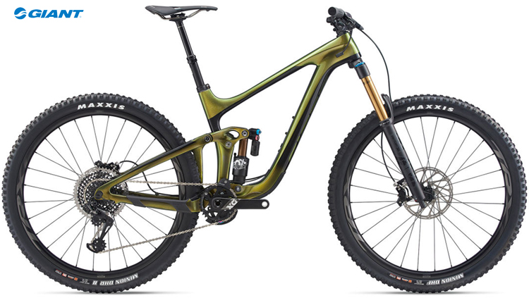 La mtb biammortizzata da enduro Giant Reign Advanced PRO 29 0