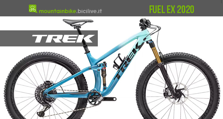 La mtb Trek Fuel EX 2020