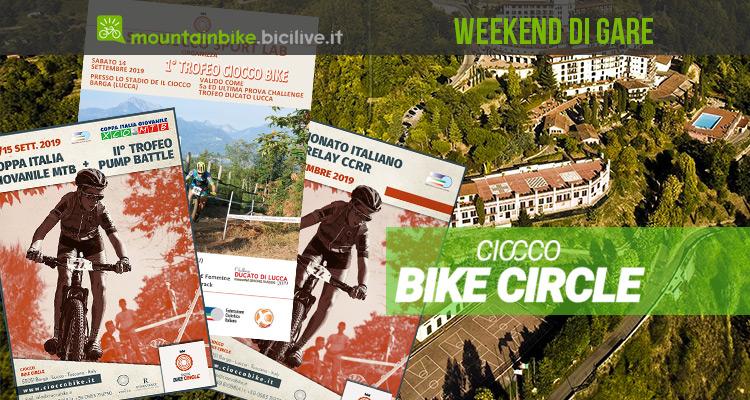 Il Weekend di gare MTB al Ciocco 2019