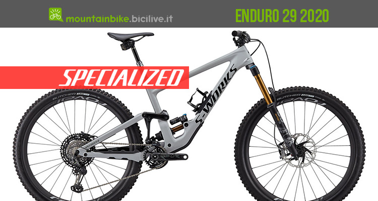 La nuova mtb Specialized Enduro 29 2020