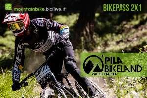 Pila Bikeland: promozione Bikepass 2x1