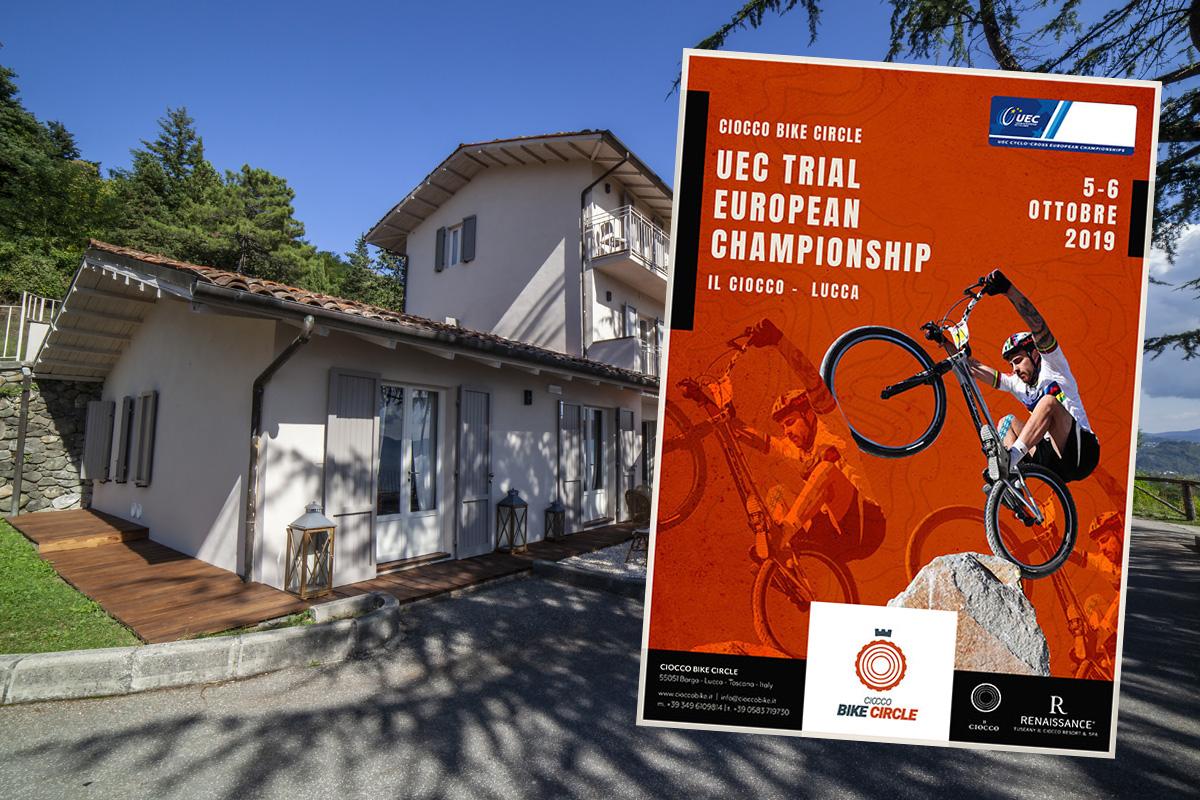 Locandina UEC Trials European Championships 2019
