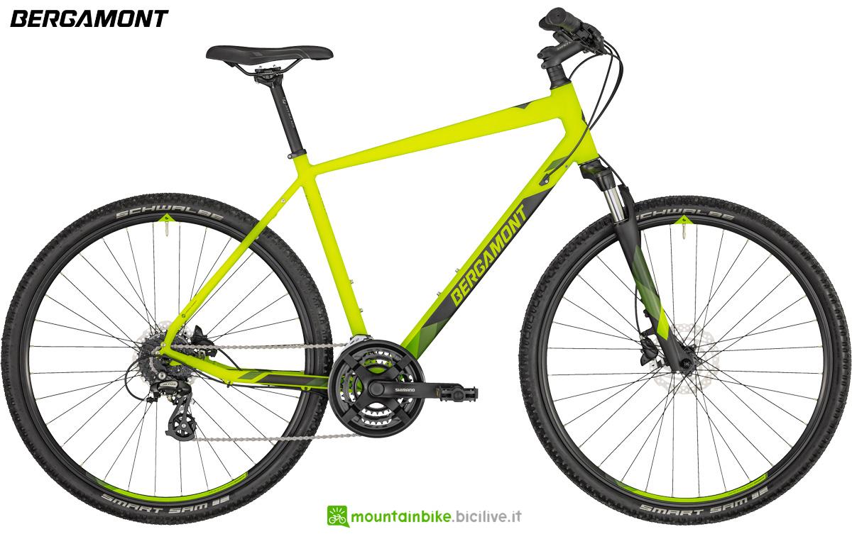 Una bicicletta Bergamont Helix 3 Gent