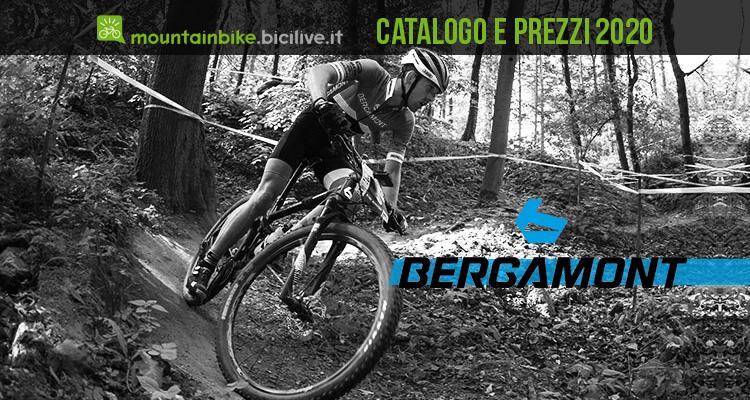 Le mountain bike Bergamont 2020: catalogo e listino prezzi