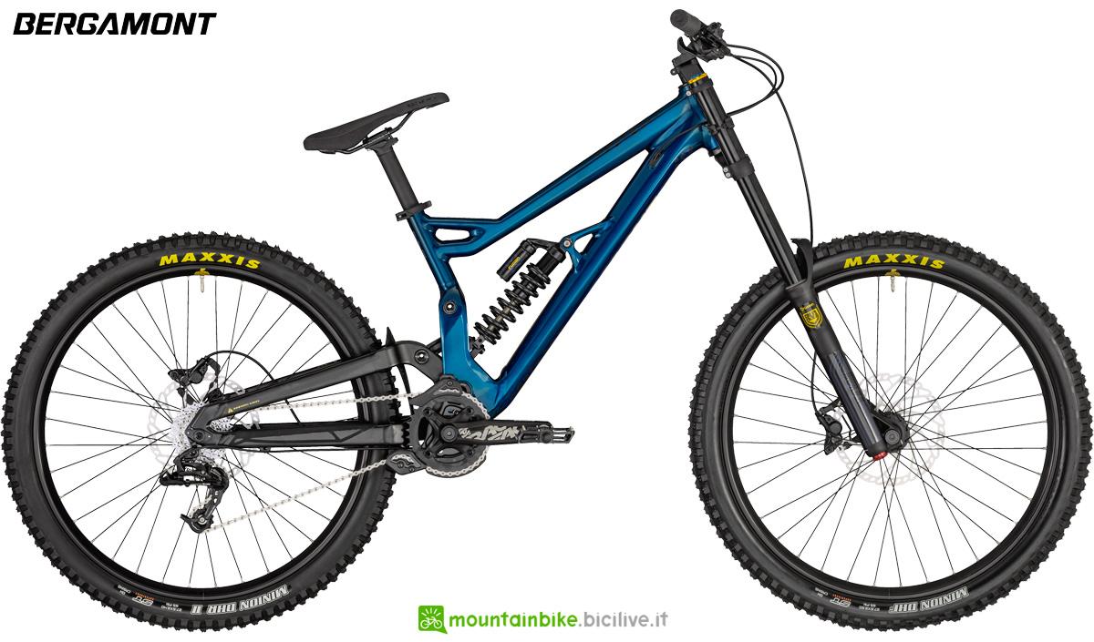 Una bici da downhill Bergamont Straitline 7 dal catalogo 2020