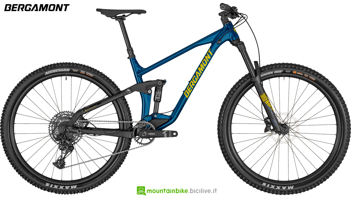Una mountain bike full Bergamont Trailster 6 anno 2020